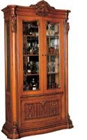 Valuable ZP050-814 two door wine cabinet
