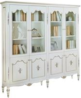 Soloartoo DP1019-205 4-door Bookcase/ four door bookcase