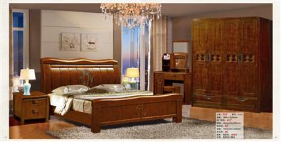Chinese oak bed 923#