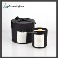 Classic Black Glass Jar Scented Candle