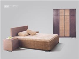 Hotel Home rattan bed group