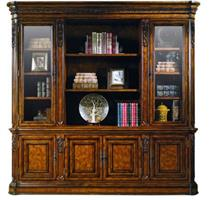 Valuable AP020-204 four door bookcase