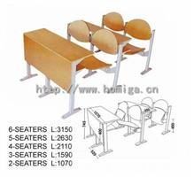Ladder classroom chairs and tables HM110-2-C