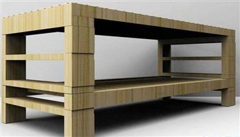 Bamboo table 03#