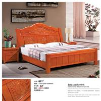 Boutique solid wood bed 831#