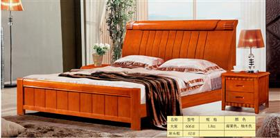Boutique solid wood bed 606#