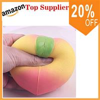 high quality jumbo peach squishy  rising toy