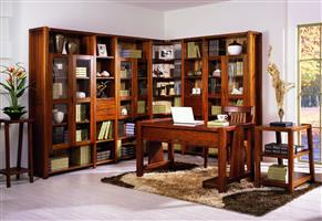 B805 combination bookcase