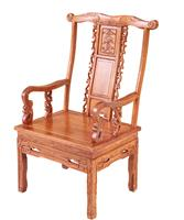 Antique solid wood chair 09#