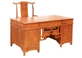 Antique solid wood desk 04#