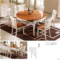 Dining table and chair set 801#