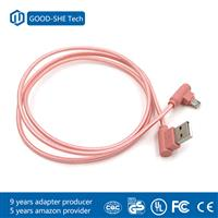 Alibaba wholesale fashion design bend usb cable micro usb charging cable for android phone