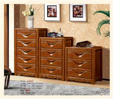 Imported oak drawers 6602#