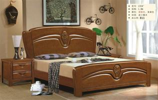 Chinese wood bed 1316#