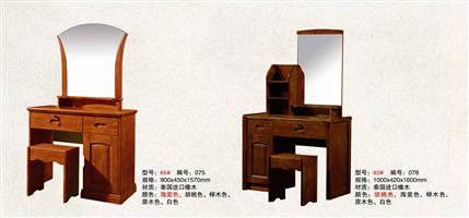 Imported oak dressing table 01#02#