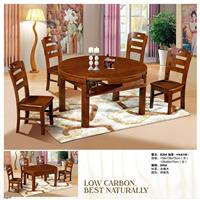 Classical oak table chair set B28#