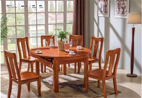 Camphor wood furniture, dining table dining chair series