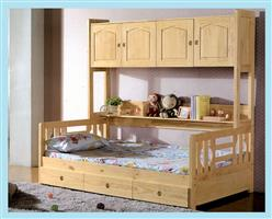 Children's bed with lockers  8028#