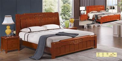 Boutique solid wood bed  813#
