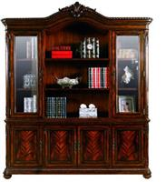 Valuable AP019-204 four door bookcase