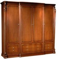 Valuable ZP055-916 four door wardrobe