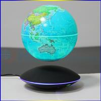 2017 new map globe HCNT levitating 6 inch twinkled earth globe