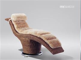 Rattan sofa, leisure furniture, rattan leisure chair, HC0608